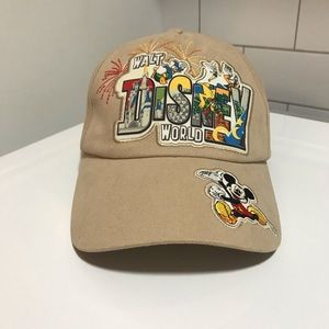 Walt Disney World Mickey Mouse Hat Parks Authentic